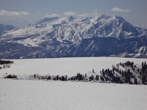 Snow Bain From Sunrise Ridge, Powder Mountain photo