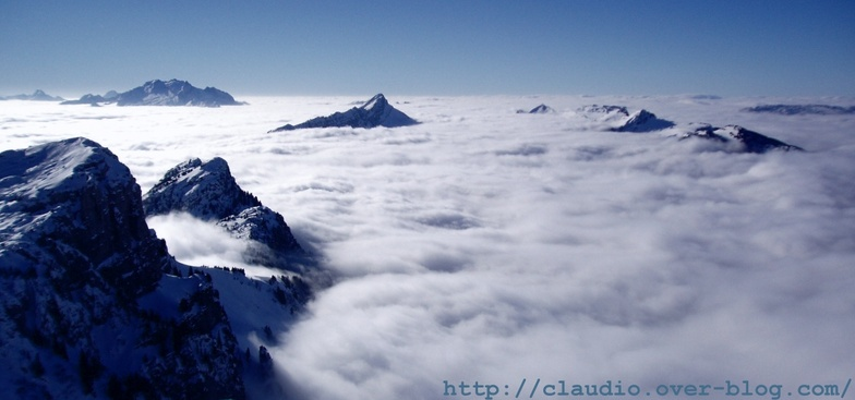 sea of clouds, Annecy-LeSemnoz