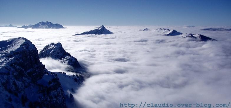 Annecy-LeSemnoz snow