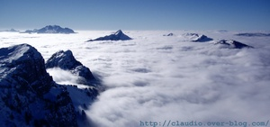 sea of clouds, Annecy-LeSemnoz photo
