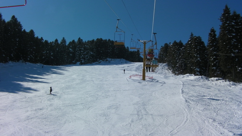 Pelisterska ski pateka 19ti Feb. 2012, Kopanki - Pelister