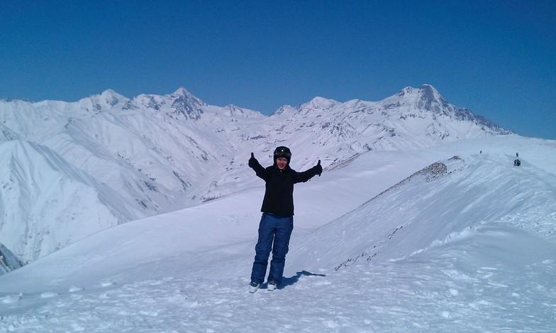At the top 3267 m, Gudauri