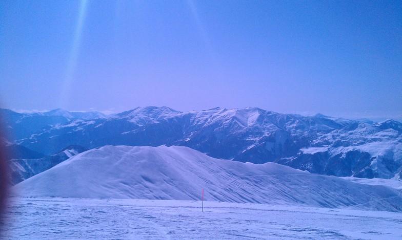 That is what it looks like when you ski down, Gudauri