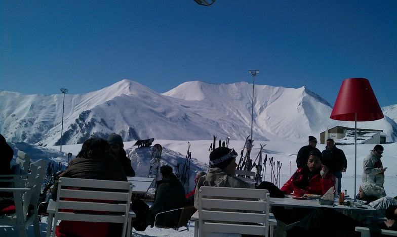 You can work on your tan too :-), Gudauri