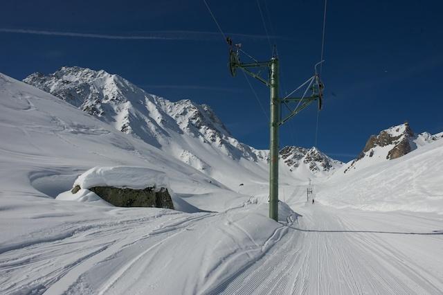Fontanesses lift, Arolla