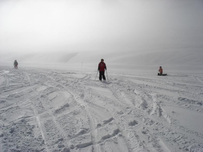 Um dia após a nevasca, Valle Nevado