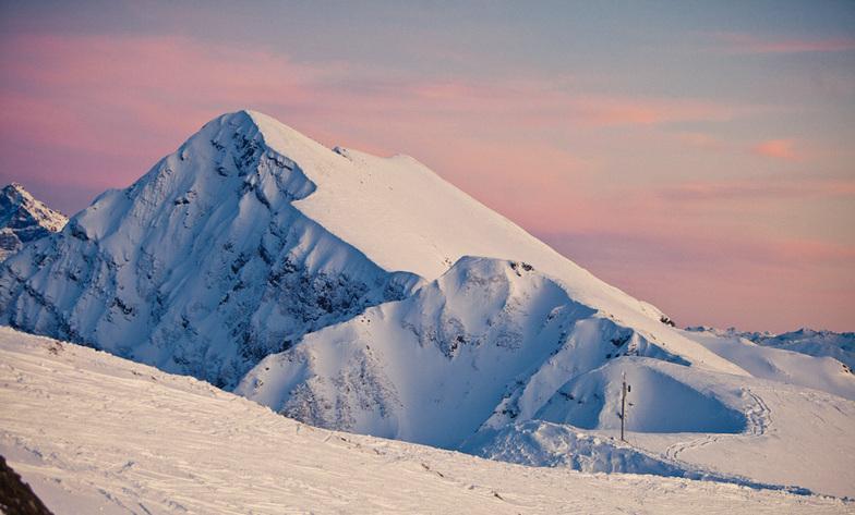 Gorizont slope, Ober Khutor, Rosa Khutor
