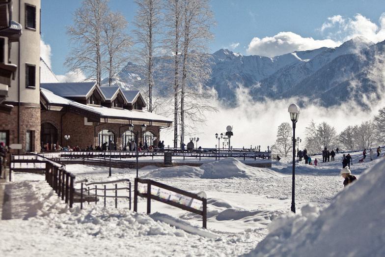 Rosa Plateau, Rosa Khutor Alpine Resort