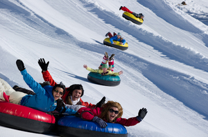 Tubing at Heavenly Mountain Resort photo