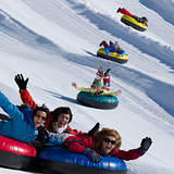 Tubing at Heavenly Mountain Resort, USA - California