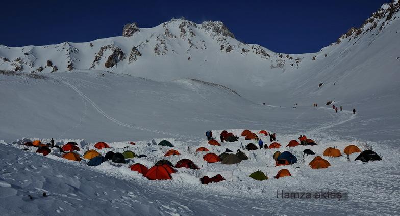 Erciyes çoban ini kamp alanı, Erciyes Ski Resort