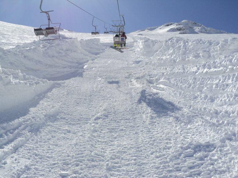 helmos stiga, Kalavryta Ski Resort