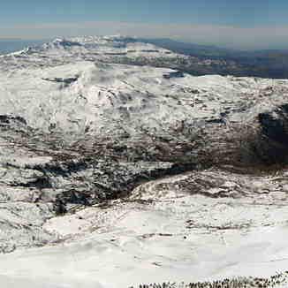 View from top of Mzaar, Mzaar Ski Resort