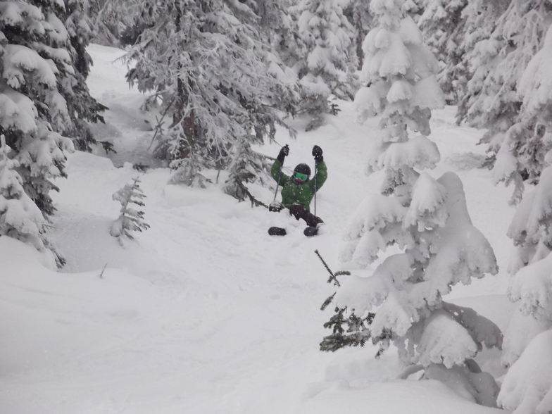 Oops! It's the powder, Big White