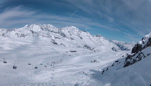 Stubai Glacier Snow photo