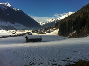 Early March morning start..., Telfes in Stubai photo