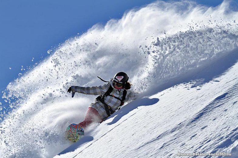 prorider Anna Orlova, Rosa Khutor Alpine Resort