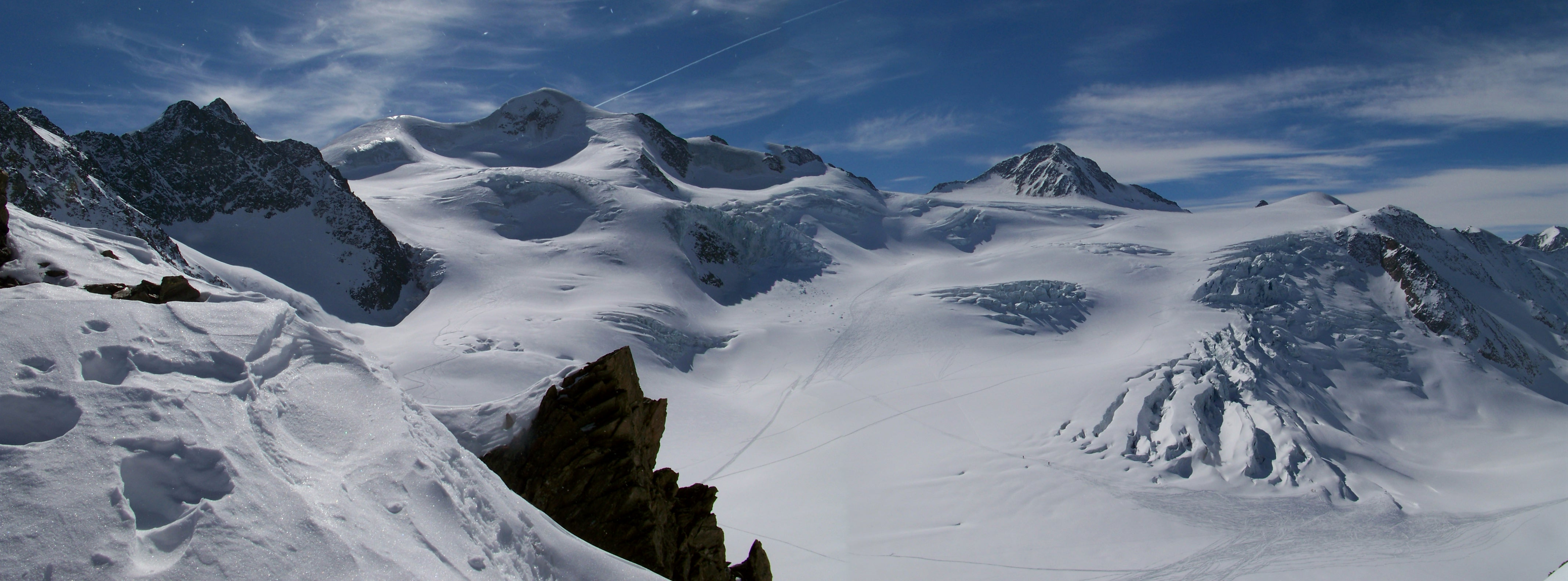 Wildspitze North Face, Pitztal Glacier