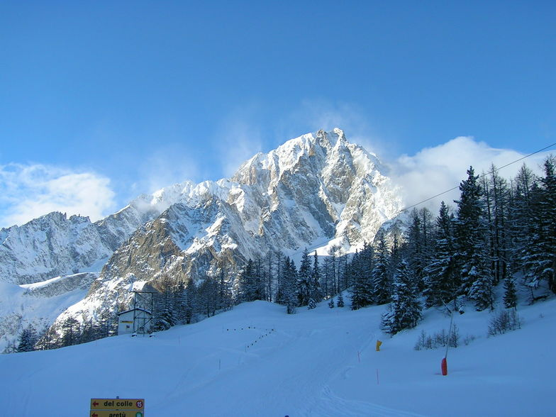 The Mighty Mont Blanc, Courmayeur