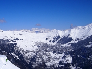 View to Verbier, Bruson photo