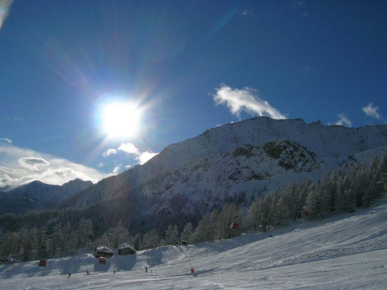 Courmayeur Mountain view