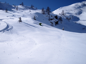 Off-Piste - Grand Tsai T-bar area, Bruson photo