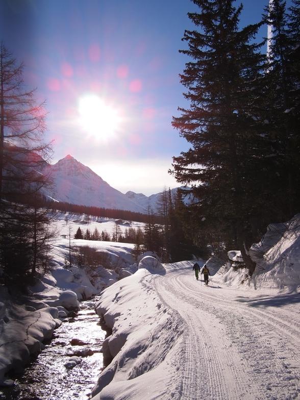 Cross Country Piste, La Fouly - Val Ferret