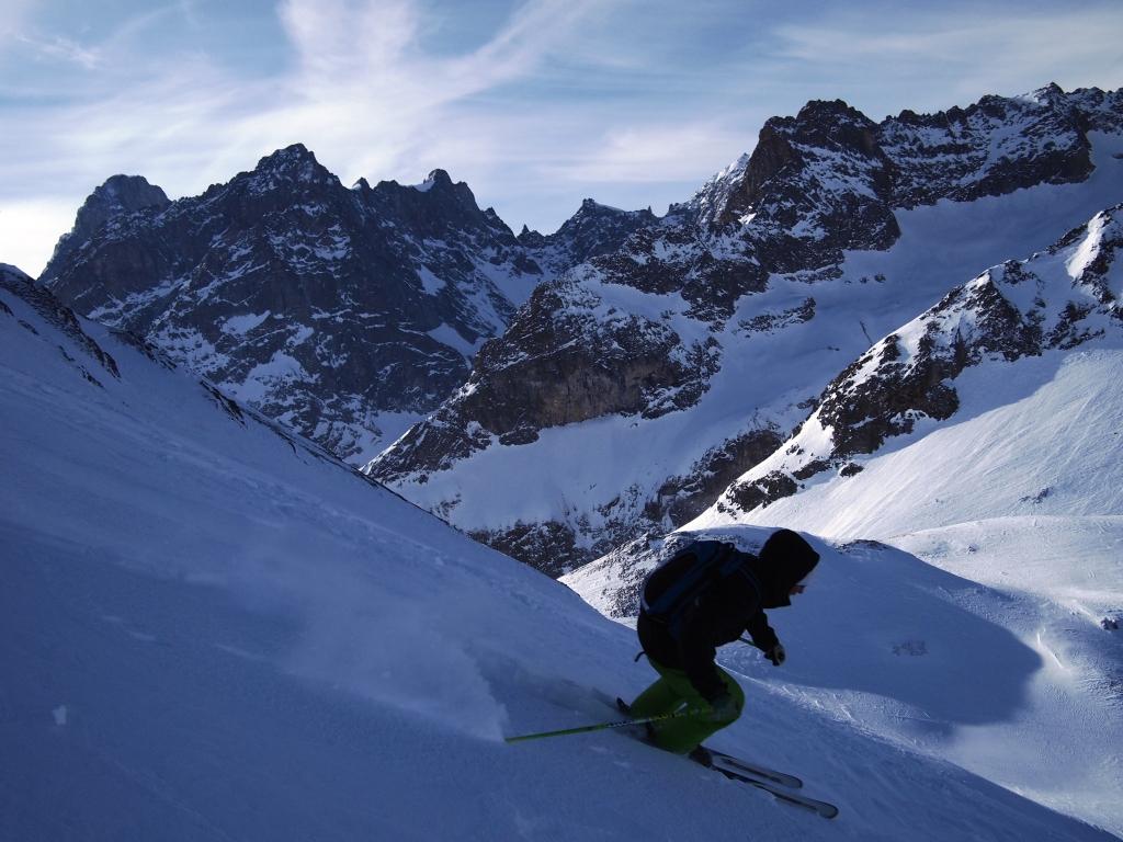 North Face of the Tete de Ferret, La Fouly - Val Ferret