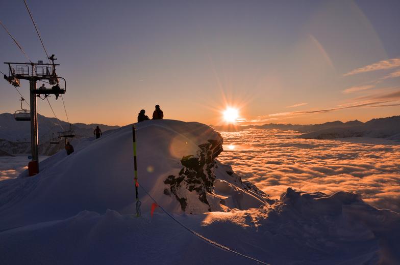 La Rosière snow
