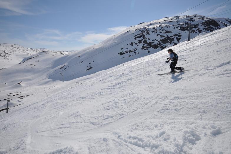 Riksgränsen snow