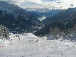 Aosta Valley from Courmayeur photo