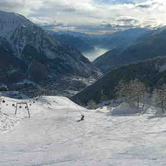 Aosta Valley from Courmayeur