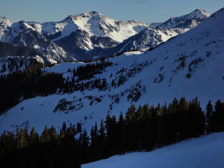 Wolf Creek Ski Area snow