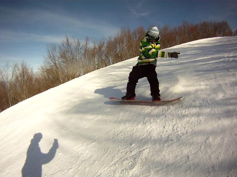 SNOWBOARDING, Pilion