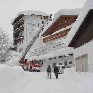 Snow Clearing, St. Anton