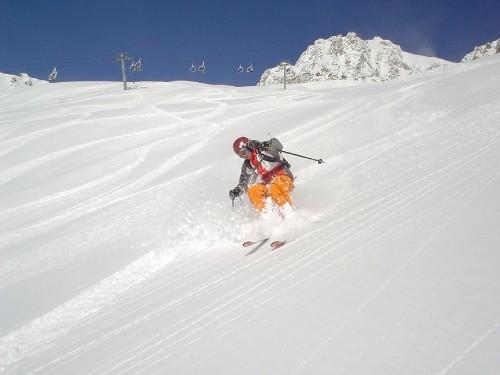 Saint François Longchamp snow