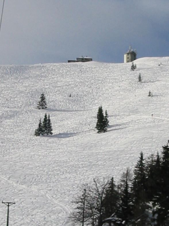 Mariazeller Land snow