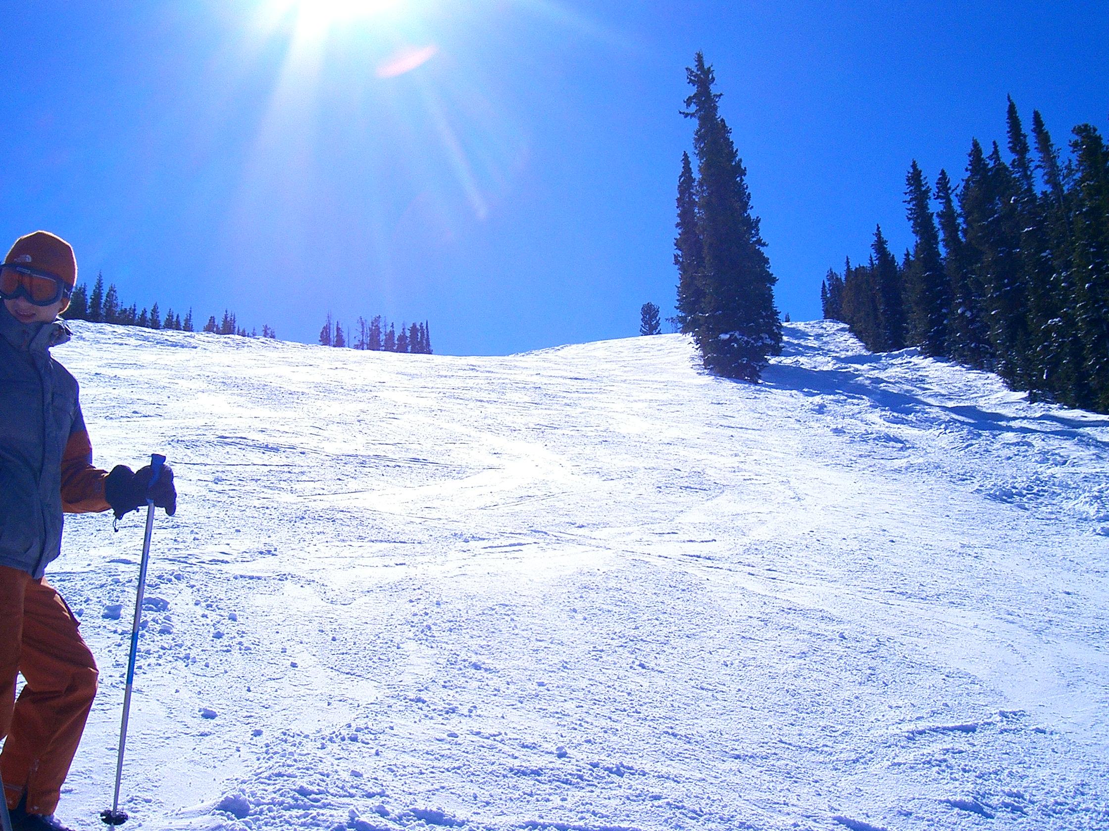 How steep Dad !, Winter Park