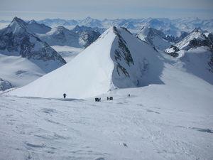 Pignes d'Arolla, Switzerland photo
