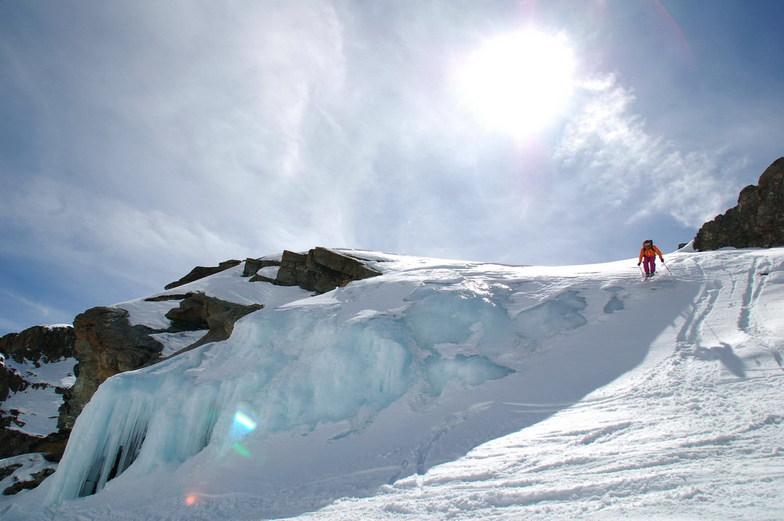 Cascata di ghiaccio, Gressoney-la-Trinite
