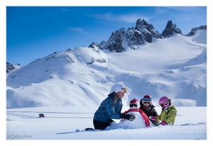 Cerro Perito Moreno en familia photo