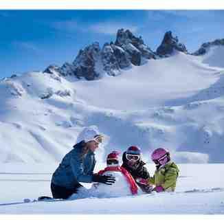 Cerro Perito Moreno en familia