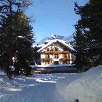 Kurhaus hotel, Arolla