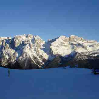 Early evening at the Dolomites !, Madonna di Campiglio