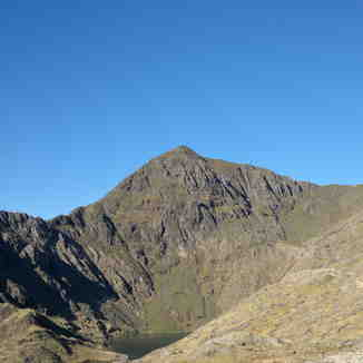 Snowdon Summit from the Pyg track