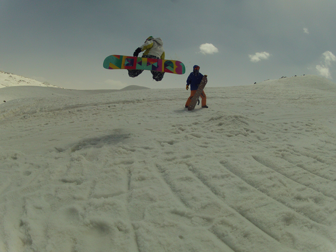 karim, Pooladkaf Ski Resort