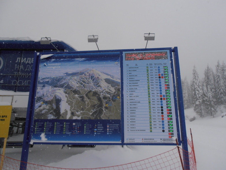 Good maps, Kopaonik