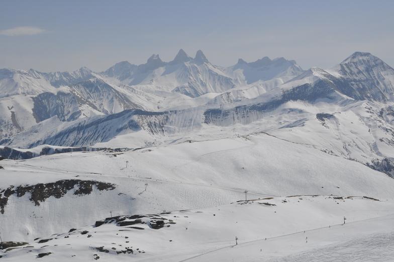 Le Corbier (Les Sybelles) snow