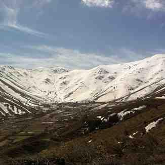 Spring snow line, Bozdag