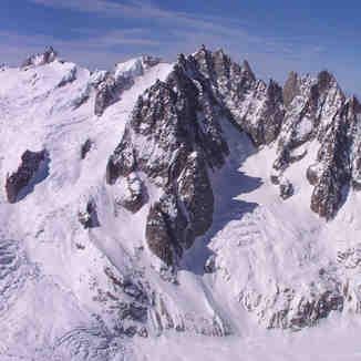 Mont Blanc et vallée blanche, Chamonix